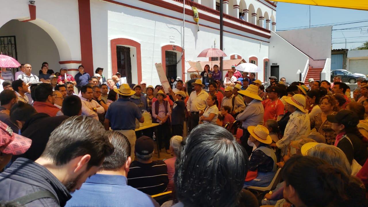 Rechazan construcción de colector en Juan C. Bonilla (Puebla)