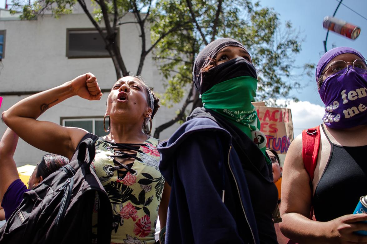 Mujeres exigen seguridad y Sheinbaum les llama provocadoras (Ciudad de México)