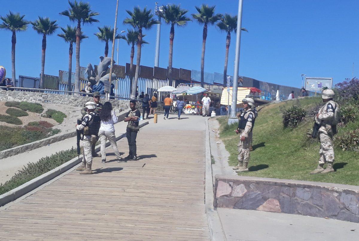 Acusan a la Guardia Nacional de actuar como la Patrulla Fronteriza de EU en Tijuana (Baja California)