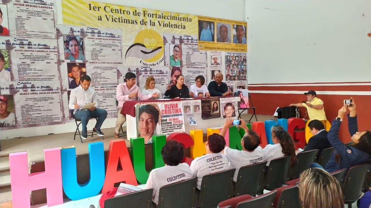 FGE es omisa o cómplice en desapariciones, acusan familiares (Puebla)
