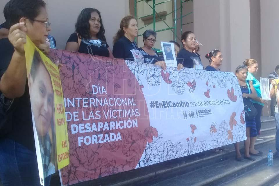 Exigen en Tamaulipas no más simulaciones en la búsqueda de desaparecidos