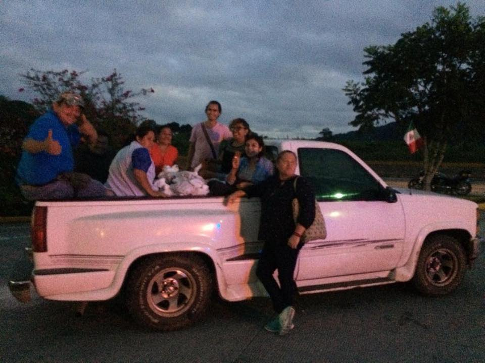 "Roban a ""Doña Blanca"", camioneta del grupo humanitario Las Patronas (Veracruz)"
