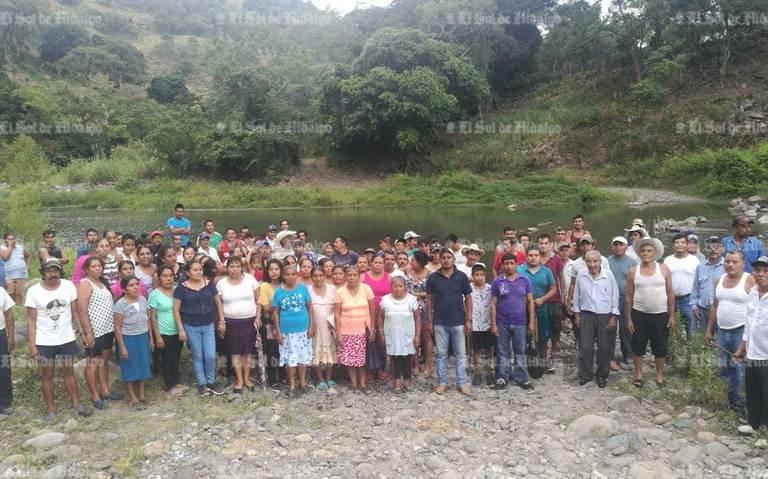 Pobladores con altos índices de manganeso en la sangre (Hidalgo)