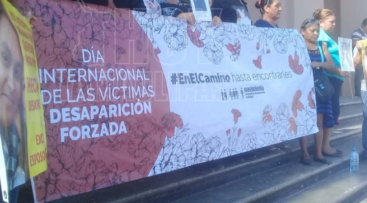 Reprime fuerza pública a manifestantes (Tamaulipas)