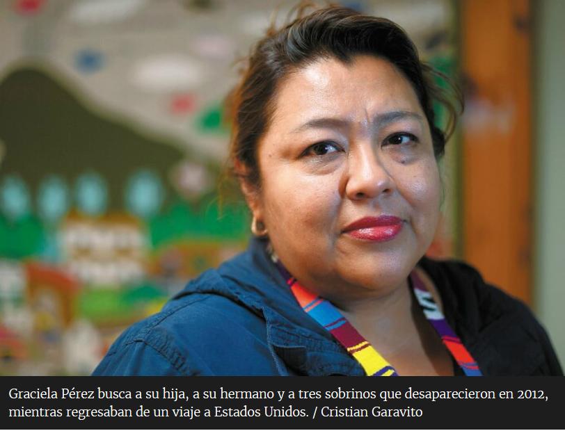 Las mujeres que buscan a los desaparecidos en Tamaulipas