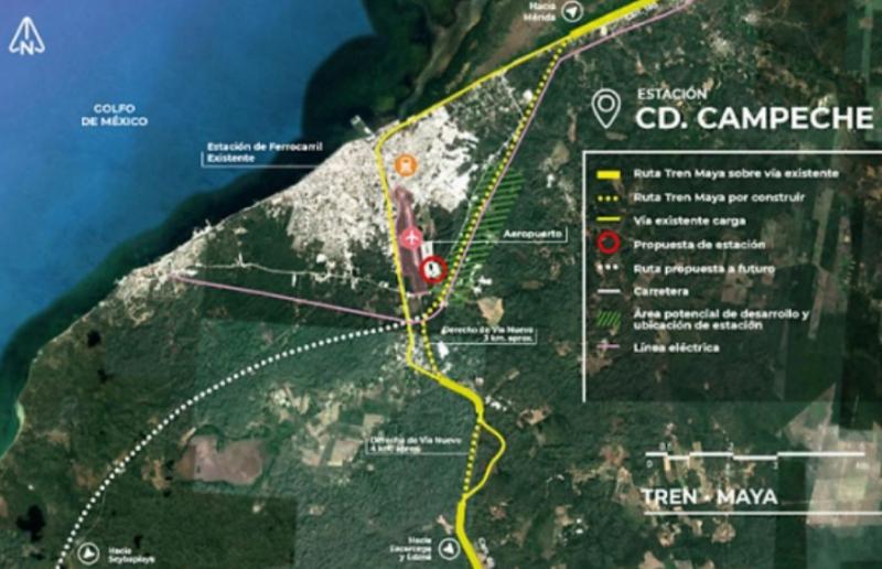 Familias de Campeche rechazan reubicación por Tren Maya