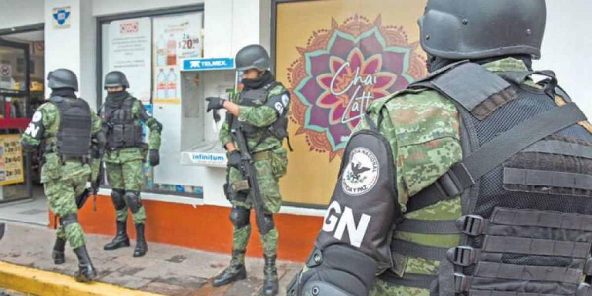Crece militarización en Tamaulipas