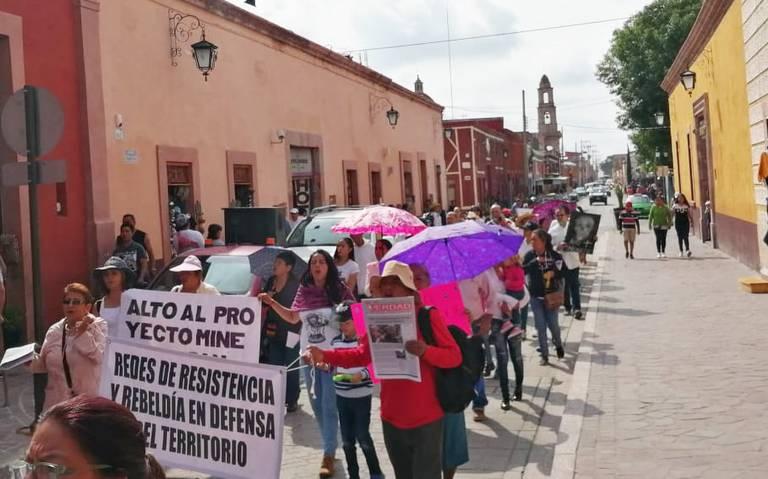 Dolores Hidalgo, y otros seis municipios guanajuatenses se oponen a minera a cielo abierto