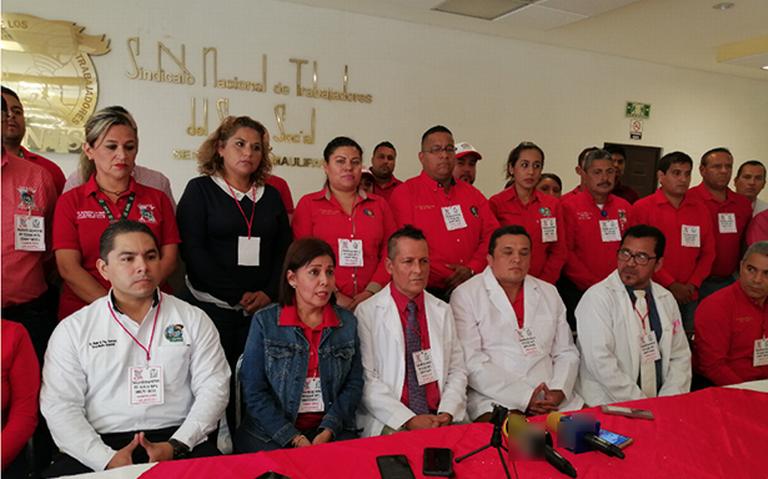 Exhiben carencias del IMSS Tamaulipas y exigen destitución de delegado estatal