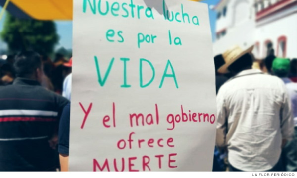 Con fuerza pública intentan iniciar proyecto de corredor industrial en Puebla