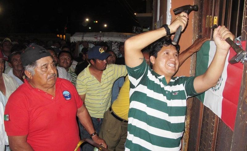 Inconformidad en Ucú (Yucatán)