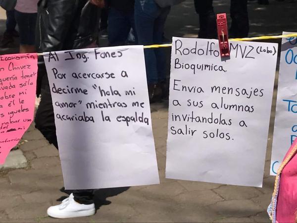 Por denuncias de acoso sexual, alumnos de la FES Cuautitlán se van a paro indefinido (Estado de México)