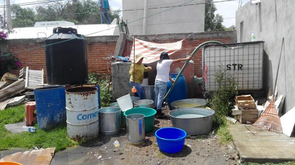 Pueblo de Edomex sigue sin agua pese a promesa del gobierno por aceptar el aeropuerto de Santa Lucía