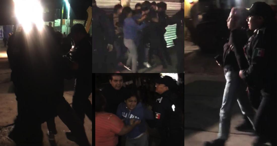 Defensores de los árboles en San Miguel de Allende, Guanajuato, son detenidos con violencia, denuncian
