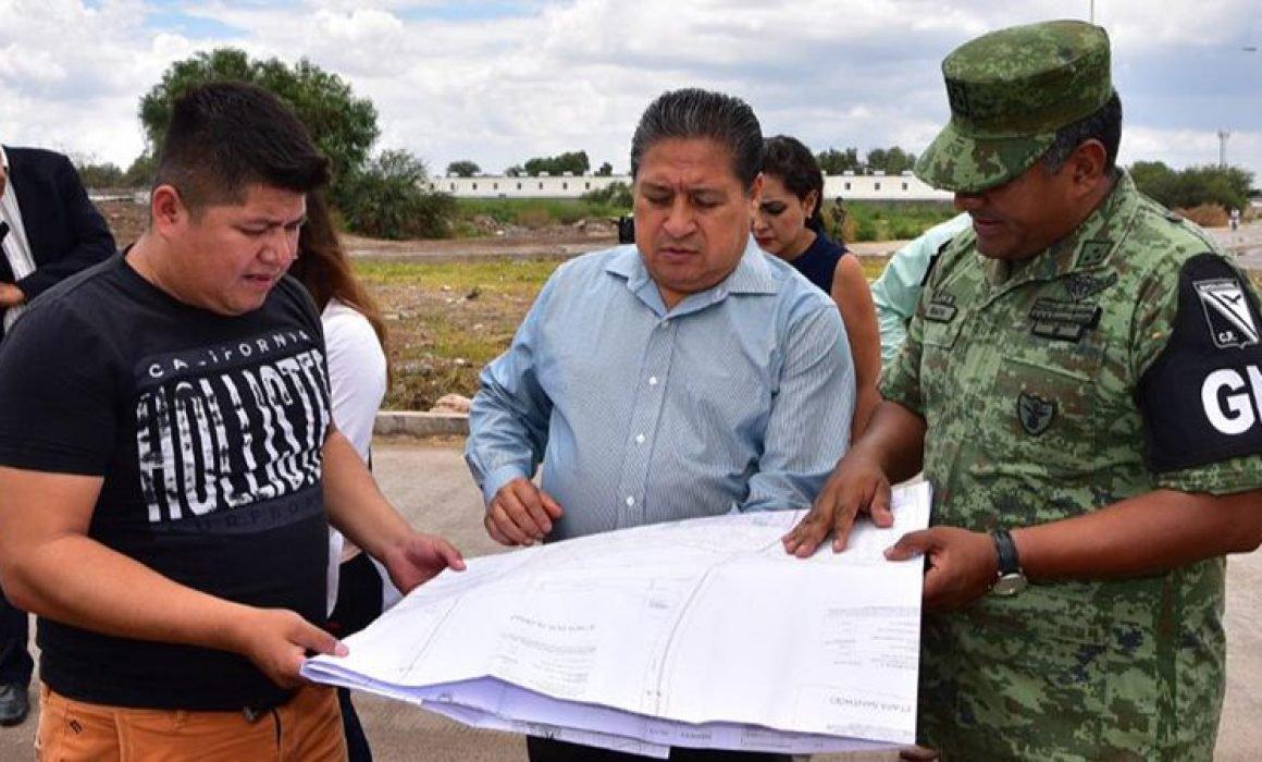 Vecinos querían terreno dado a la GN para una secundaria (San Luis Potosí)