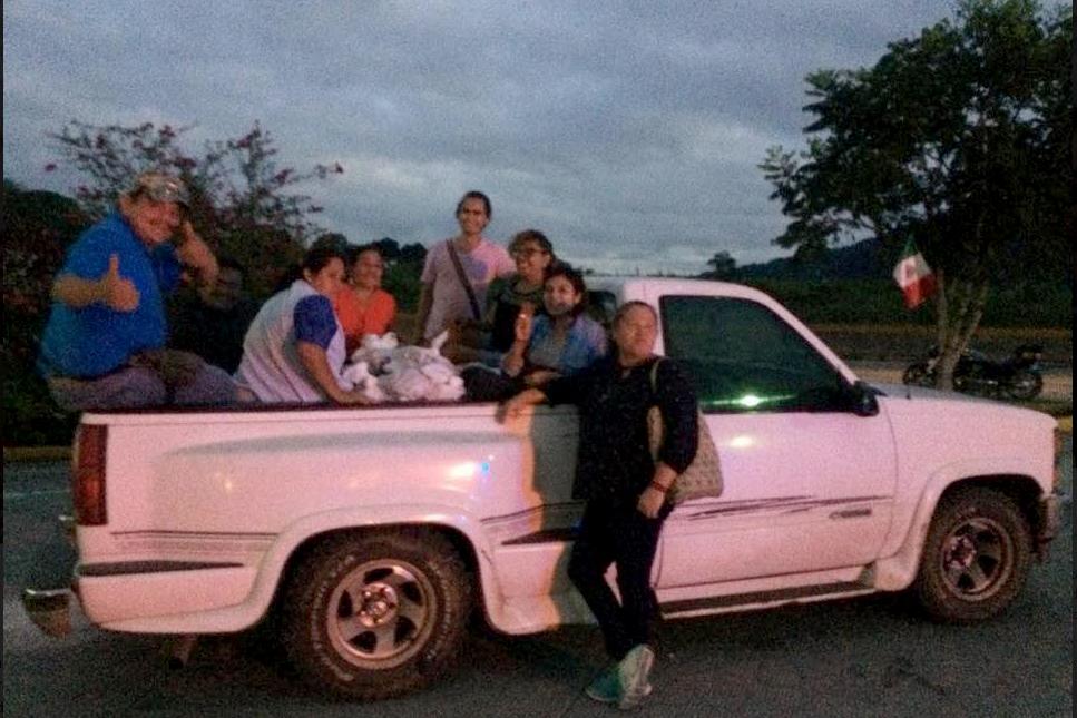 """""""La paloma"""": vehículo que salvó vidas migrantes (Veracruz)"""