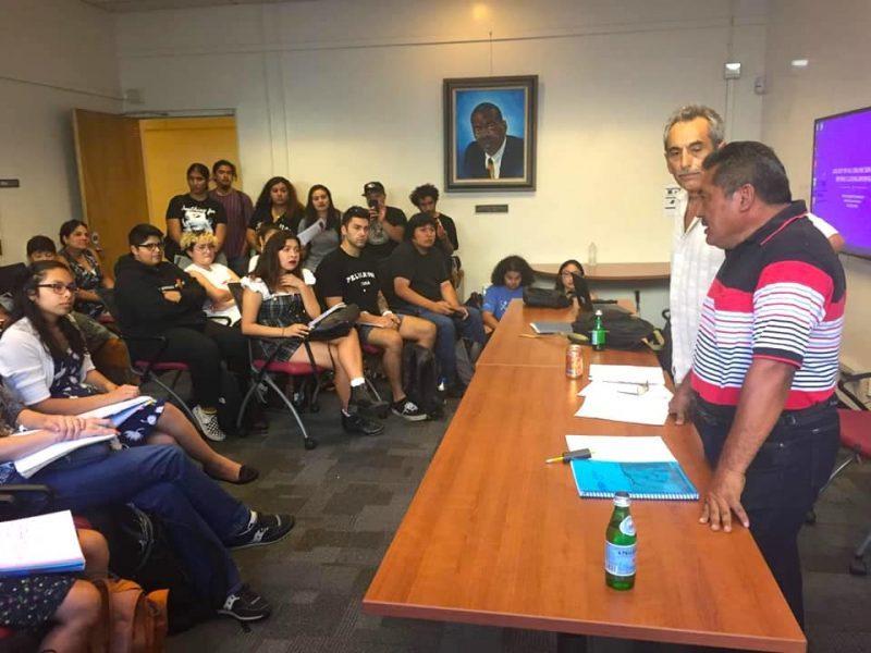 Detengan la tala de la selva maya, piden universitarios de San Francisco, California