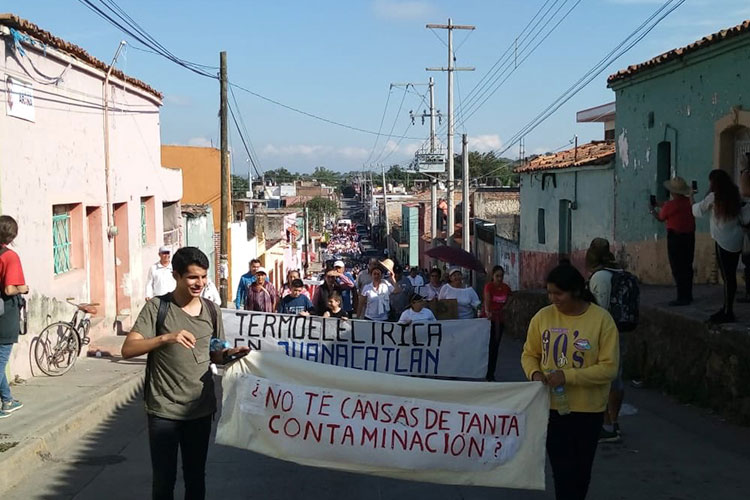 Juanacatlán y El Salto luchan contra termoeléctrica y gasoducto (Jalisco)