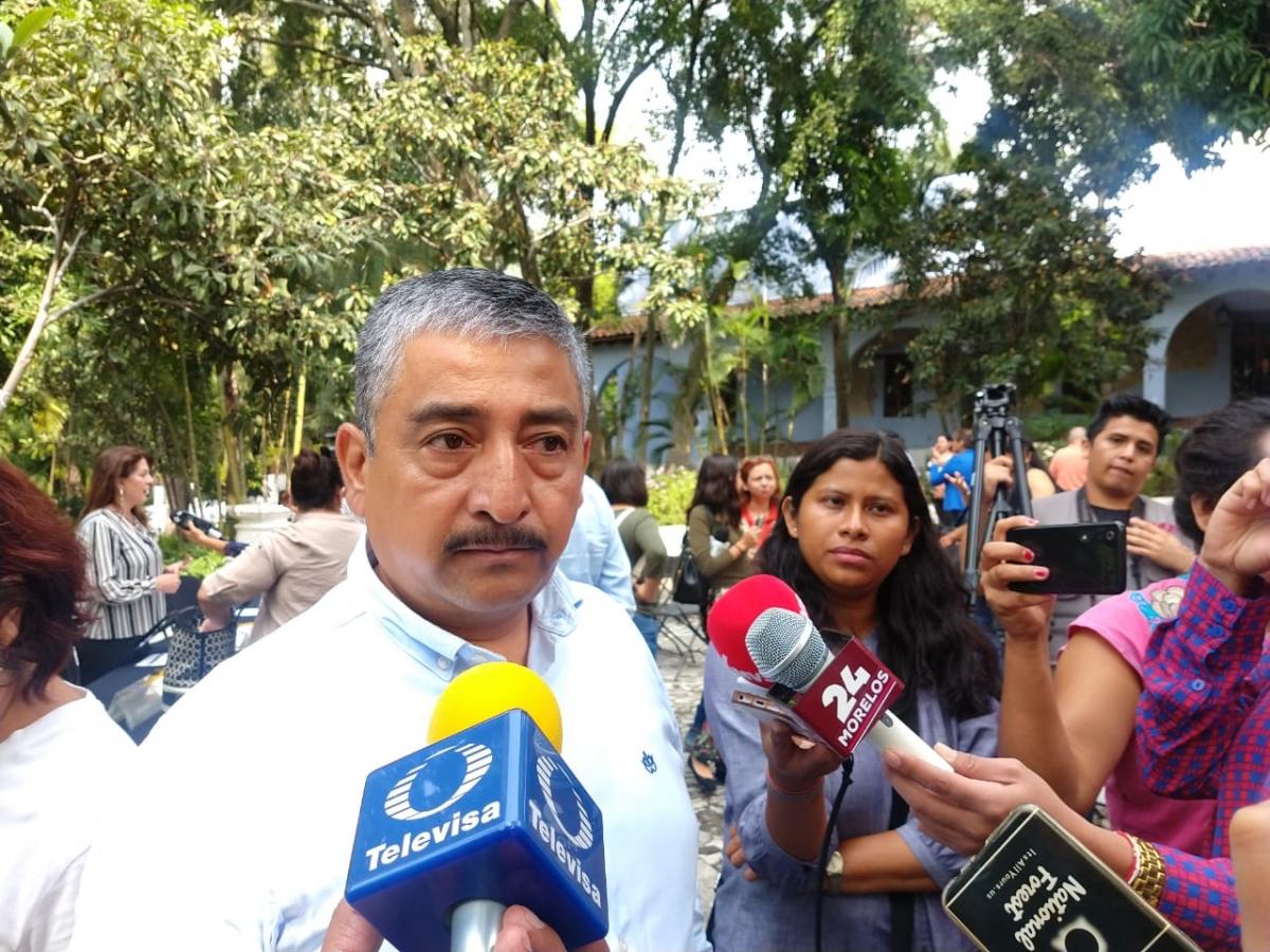 Detenida, ampliación de autopista La Pera-Cuautla a la altura de Tepoztlán: Rogelio Torres  (Morelos)