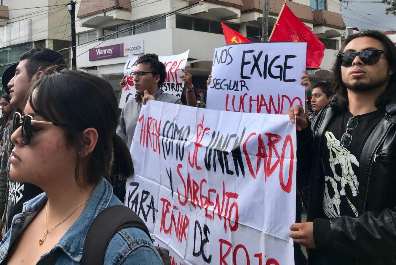 """""""Ni perdón ni olvido, el Movimiento del 68 sigue vivo"""" (Veracruz)"""