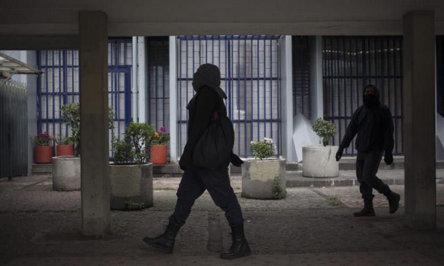 """Maestros de la FFyL exigen atender las """"justas y necesarias"""" demandas de estudiantes en paro (Ciudad de México)"""