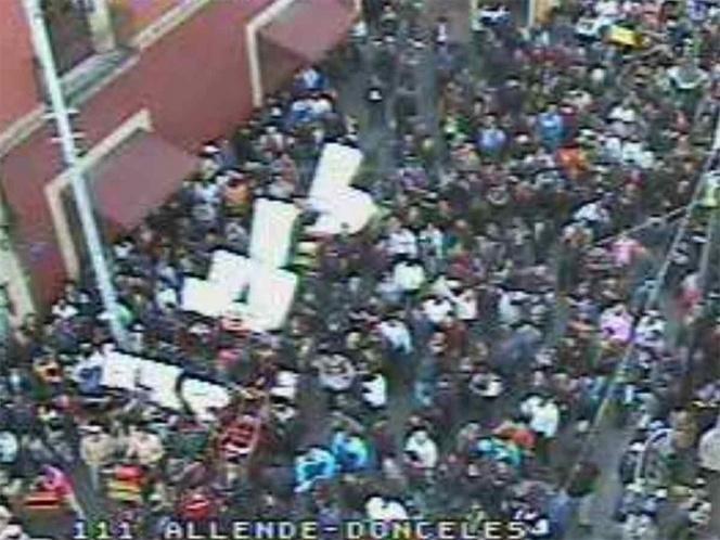 Protestan boleros, organilleros y músicos en el Congreso (Ciudad de México)