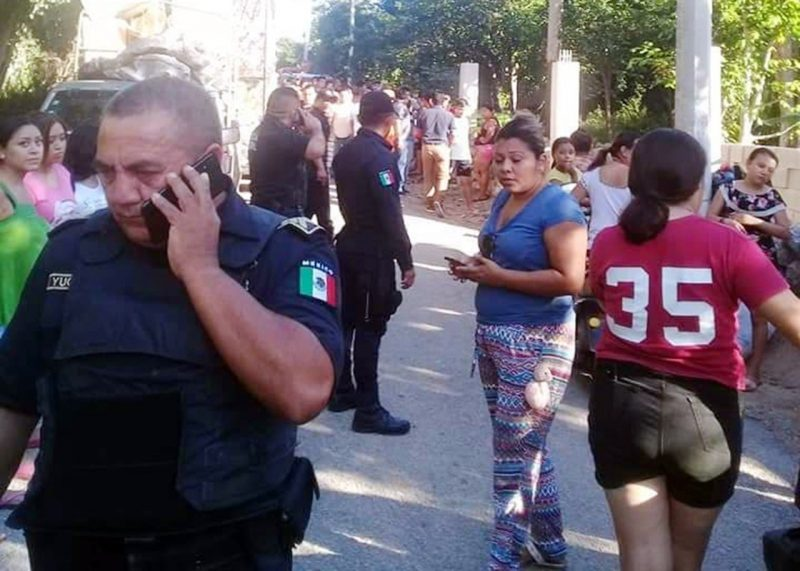 Vecinos de Maní denuncian agresión por parte de policías municipales (Yucatán)