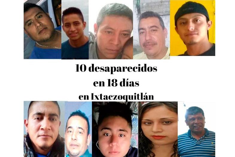 Desaparecen siete personas que fueron detenidos por la policía; suman 10 casos (Veracruz)