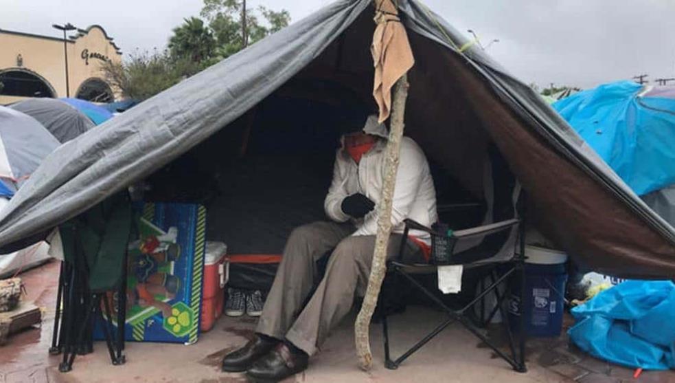 Heladas, la otra inclemencia para migrantes en Tamaulipas