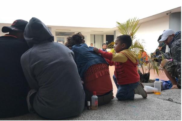Solos y con problemas de salud llegan niños migrantes a Tamaulipas