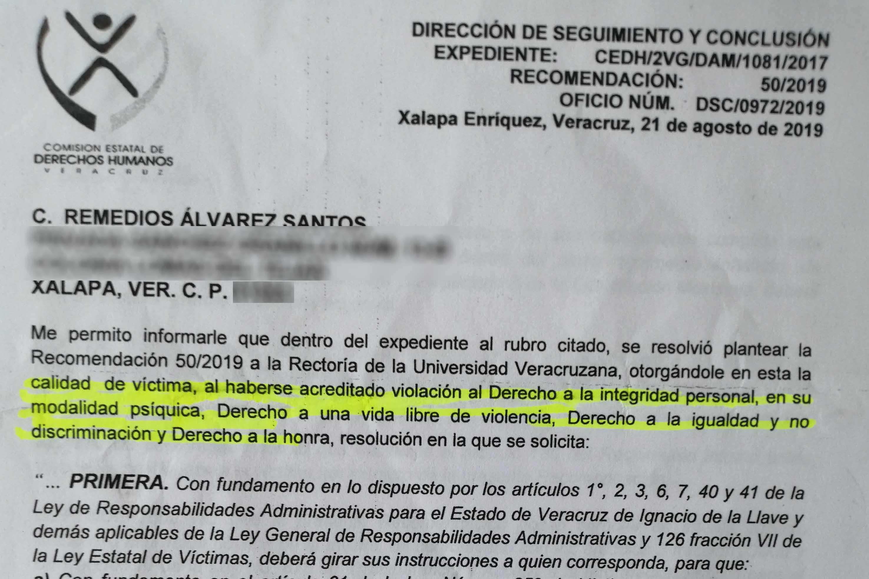 Violencia laboral a más catedráticas de la UV; el primer caso derivó denuncia penal (Veracruz)