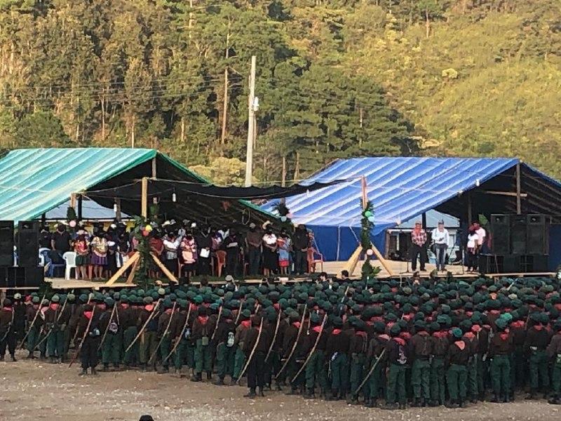 Palabras del CCRI-CG del EZLN en el 26 Aniversario