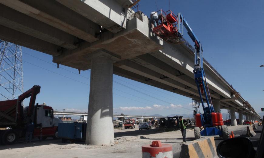Comuneros denuncian uso de la fuerza pública para concretar obras del tren interurbano en Edomex