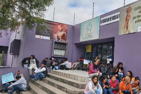 Evitan nuevo intento de desalojo en casa hogar de niños con discapacidad en Naucalpan (Estado de México)