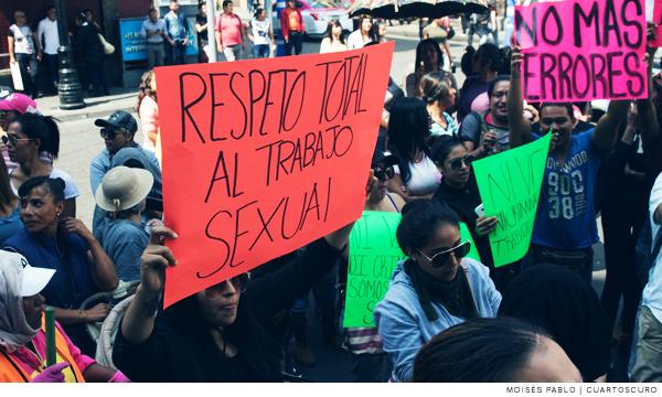 Gobierno de la CDMX discrimina y corre a trabajadoras sexuales: Brigada Callejera