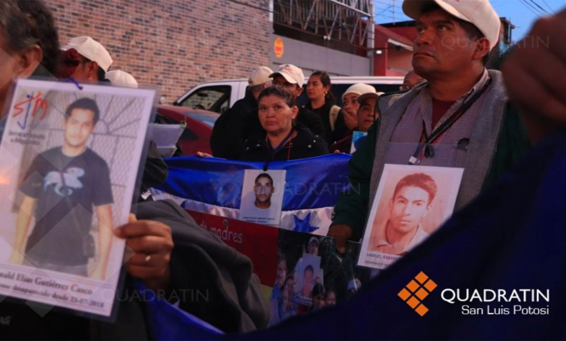 Caravana de Madres Migrantes arribó a San Luis Potosí