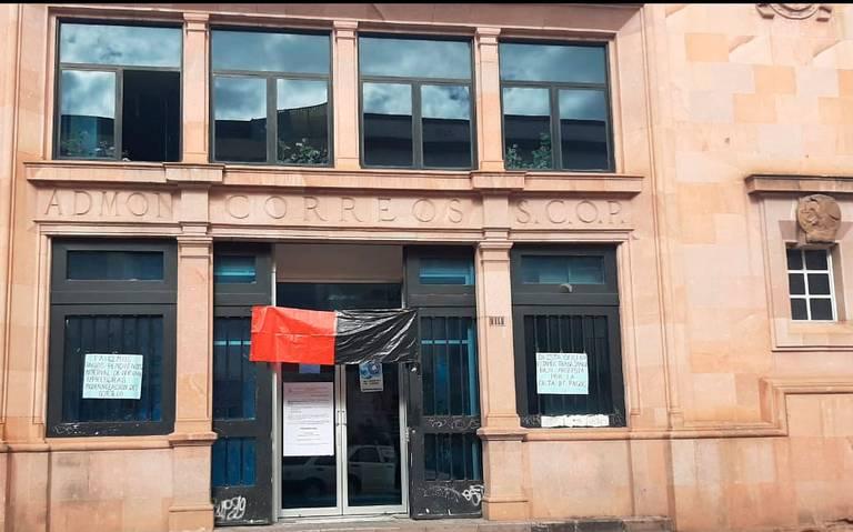Sepomex en Zacatecas suspendió labores