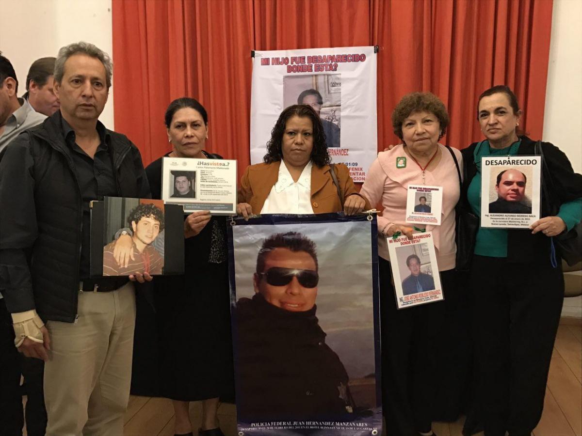"""Gobiernos siguen administrando nuestra tragedia"" (Coahuila)"