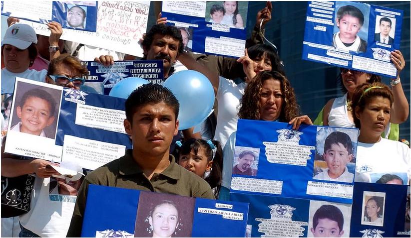"""Suman 11 mil niños desaparecidos en el país, """"alerta amber no sirve"""""""