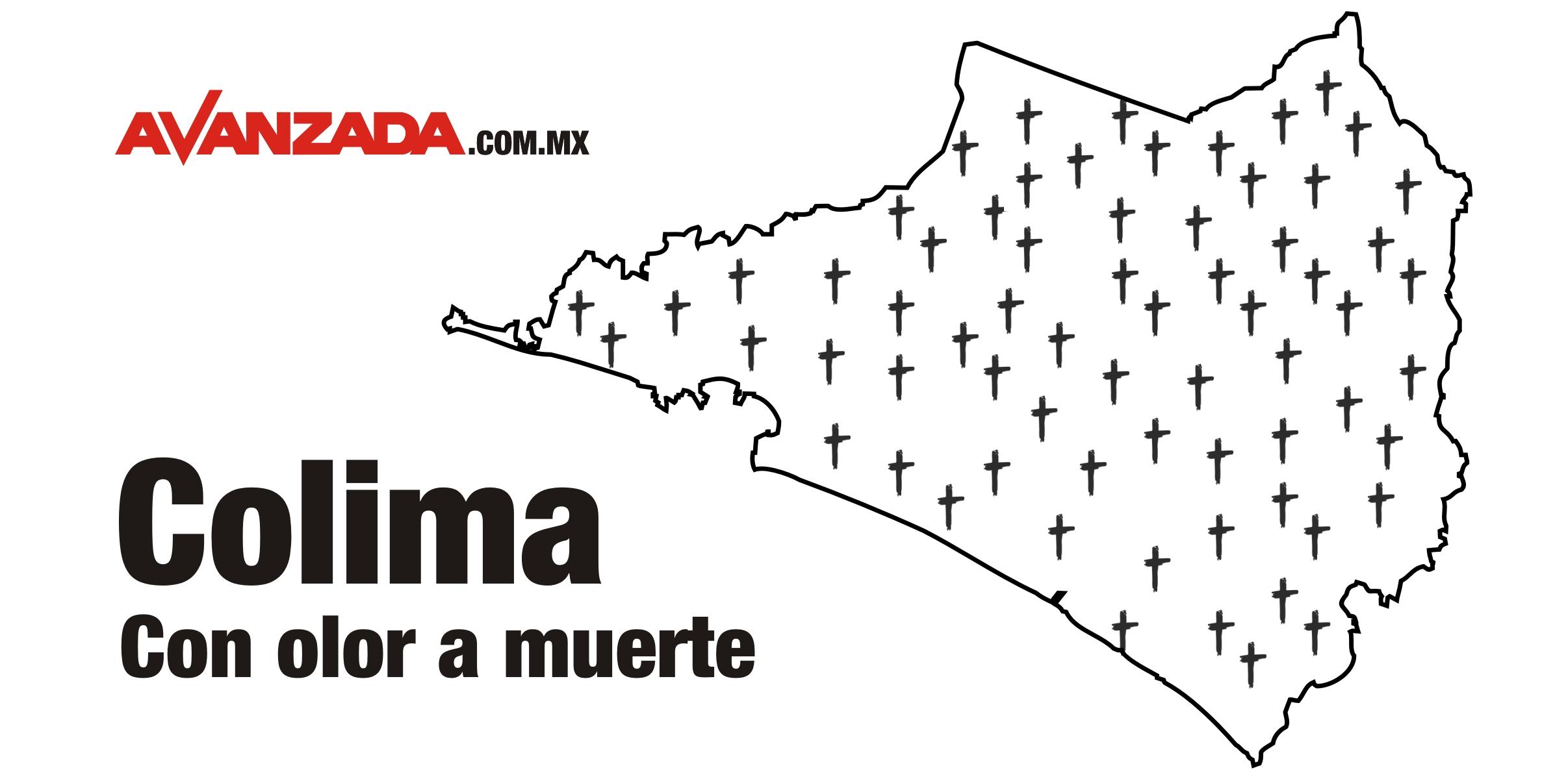 Asesinaron a 74 personas en Colima durante el mes de diciembre