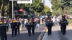 ESTUDIANTES MARCHAN A RECTORÍA POR MUERTE DE ALUMNO DE CCH AZCAPOTZALCO (Ciudad de México)