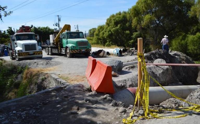 Impiden campesinos concluir acueducto (Morelos)