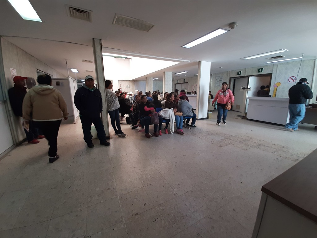 Falta personal en Hospital 21 del IMSS en San Pedro (Coahuila)