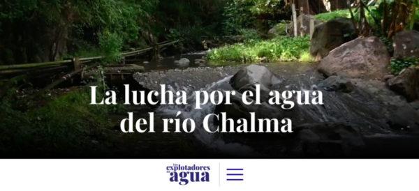 Explotadores del agua en México: la lucha por el río Chalma (Estado de México)
