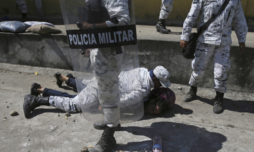 La ONU reprueba uso de la fuerza contra migrantes