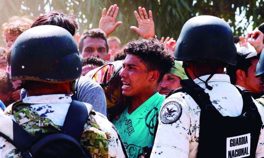 Condena unánime: la peor cara de México en materia migratoria