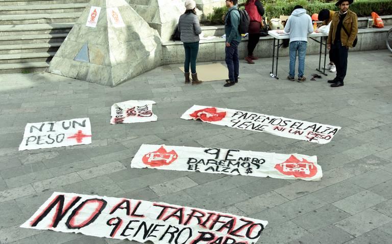 Realizan Foro Estatal en contra del tarifazo al transporte público (Estado de México)