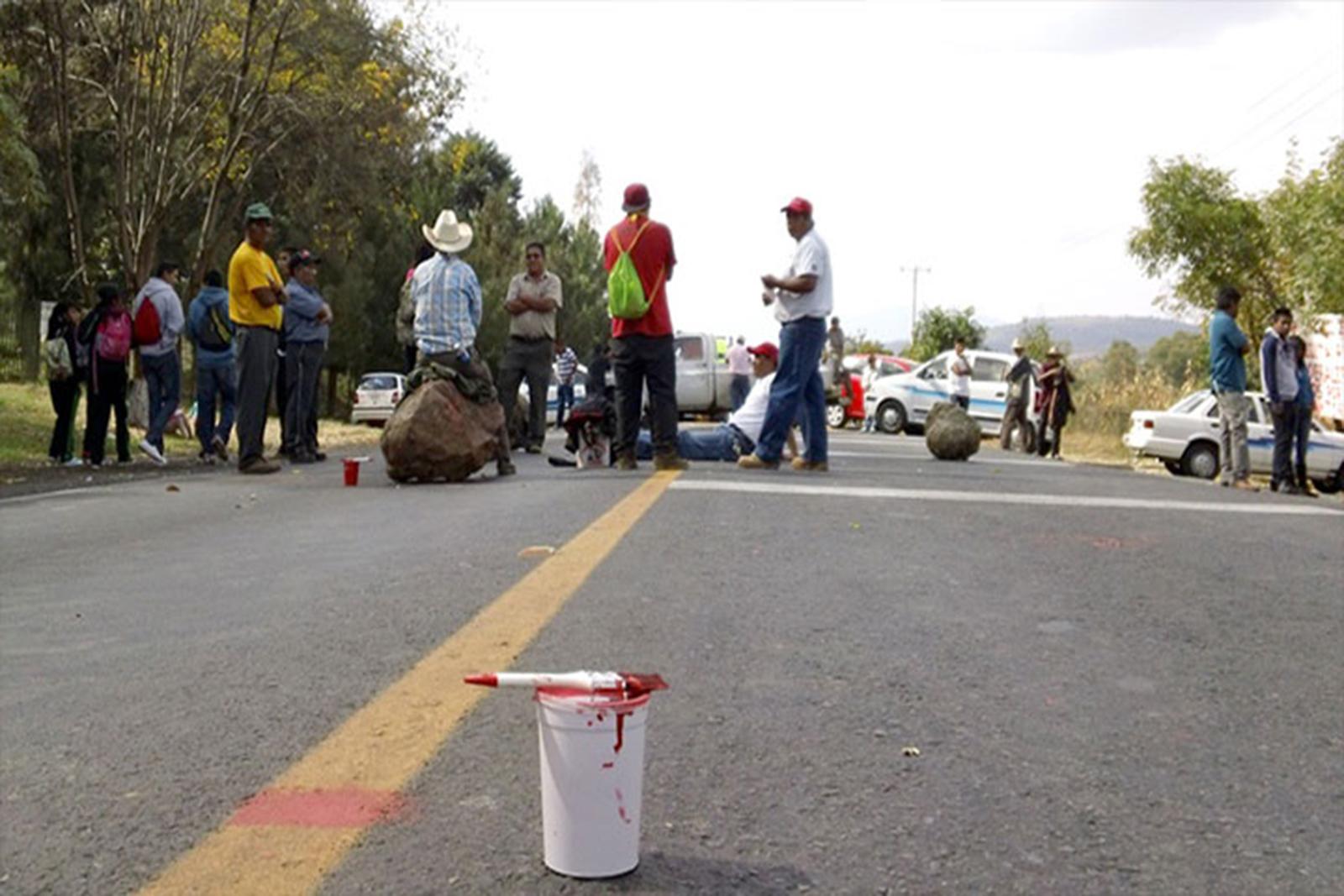 Anuncia Consejo Supremo Indígena toma generalizada de carreteras en Michoacán