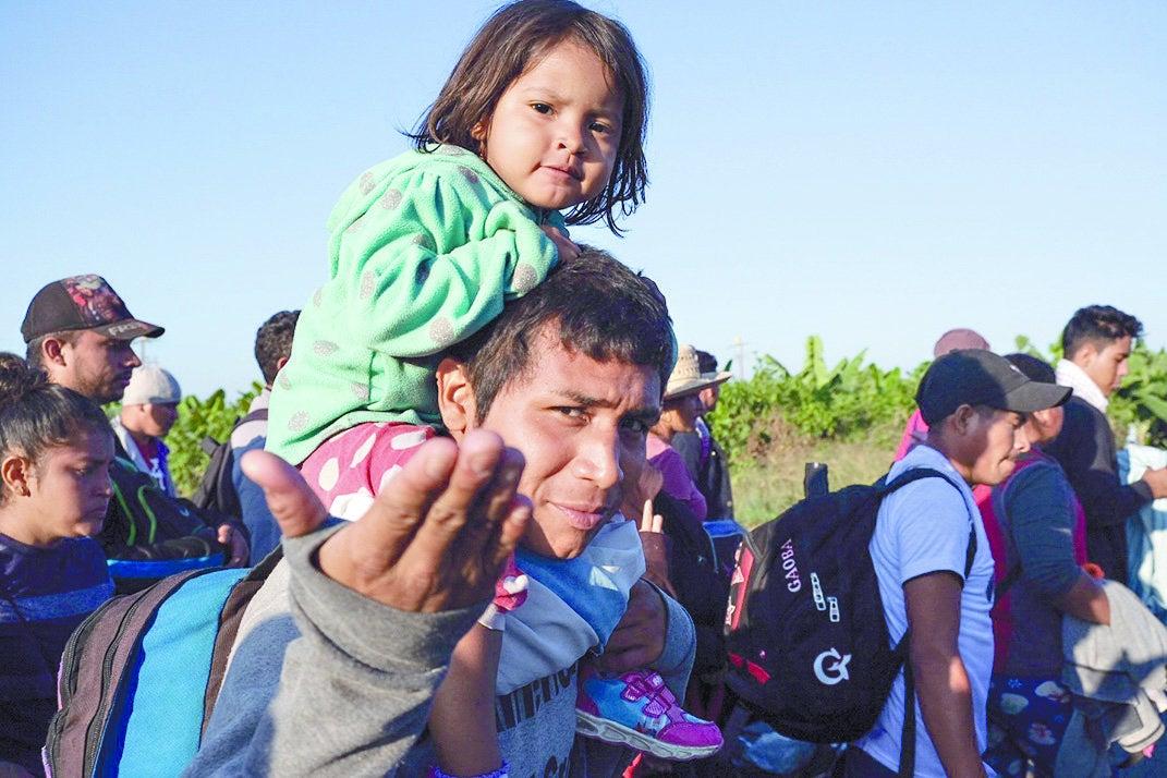 Caravaneritos, el otro rostro de la migración