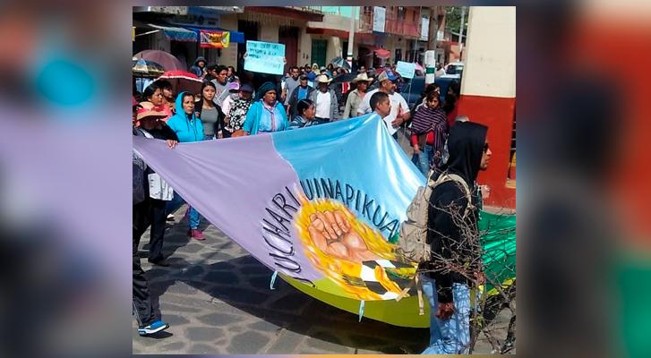 Consejo Supremo Indígena se une al Congreso Nacional Indígena (Michoacán)
